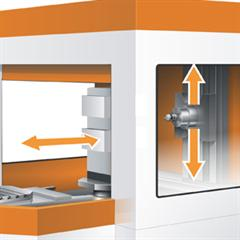 3-axis Horizontal Machining Centre