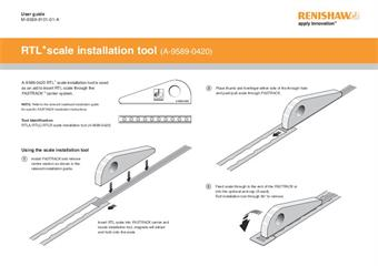 User guide: RTL* scale installation tool