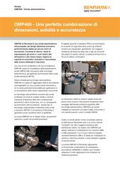 Comunicato stampa:  OMP400 - Una perfetta combinazione di dimensioni, solidità e accuratezza