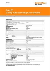 Data sheet: C-ALS® Cavity Auto-scanning Laser System