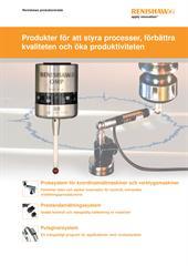 Broschyr: Renishaws produktområde - Produkter för att styra processer, förbättra kvaliteten och öka produktiviteten