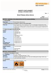 Safety data sheet: Release agent without silicone