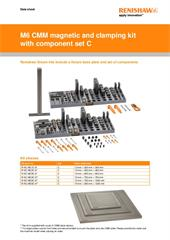 Data sheet:  M6 magnetic and clamping kit with component set C