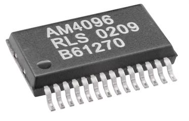 AM4096 12-bit magnetic chip
