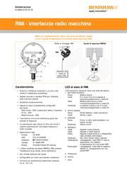 Scheda tecnica: RMI - interfaccia radio macchina