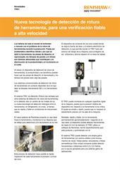 Noticias: TRS1 - Nueva tecnología de detección de rotura de herramienta, para una verificación fiable a alta velocidad