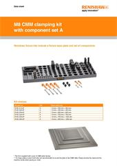 Data sheet: M8 clamping kit with component set A