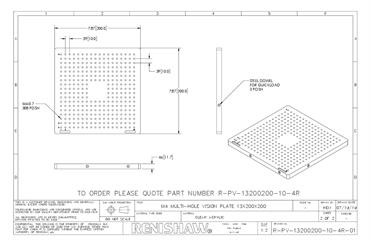 Technical drawing:  R-PV-13200200-10-4R