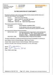 Certificate (CE):  2017-181 HCSB