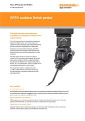 Flyer:  SFP2 surface finish probe