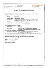Certificate (CE):  RBV Reduced build volume accessory ECD2016-15.pdf
