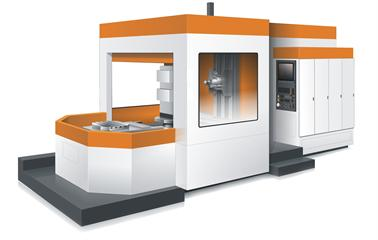 Horizontal CNC machine