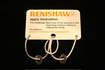 Renishaw Oceania - puzzle solution step2