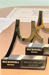 Micron d'or trophy