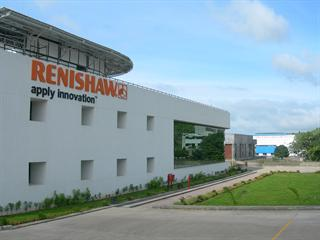 Renishaw's facility in Pune, India