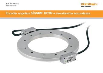 Guida all'installazione: Encoder angolare SiGNUM™ REXM a elevatissima accuratezza