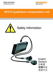 Safety Data Sheet:  RCU10 quadrature compensation unit