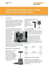 Teknisk artikel: TRS1 - Unikt system för igenkänning av verktyg känner enkelt av trasiga verktyg