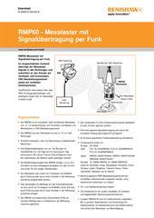 Datenblatt: RMP60 - Messtaster mit Signalübertragung per Funk