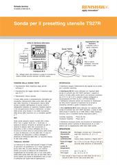 Scheda tecnica: Sonda per il presetting utensile TS27R