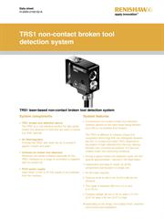 Data sheet: TRS1 non-contact broken tool detection system