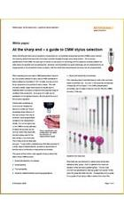 White paper: At the sharp end - a guide to stylus selection