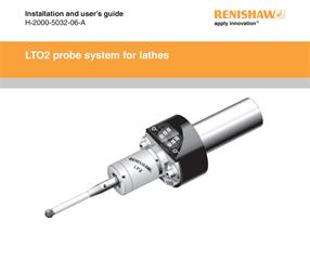 Installation & user's guide:  LTO2 probe system for lathes