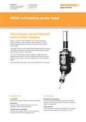 Flyer: MH20 articulating probe head