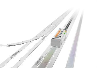 FASTRACK™ linear encoder scale with TONiC™ readhead
