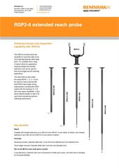 Flyer:  RSP3-6 extended reach probe