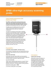 Flyer: SP80 ultra-high accuracy scanning probe