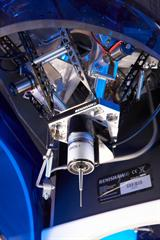 Scanning mechanism of a Renishaw incise scanner