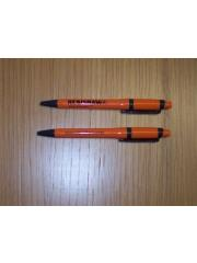Corporate gifts - orange Renishaw pens