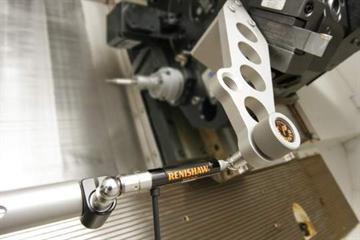 QC10 ballbar testing on a lathe 540]