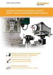 Broszura: Produkty i usługi firmy Renishaw