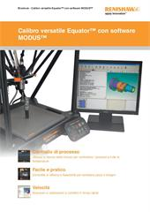 Brochure:  Calibro versatile Equator™ con software MODUS™