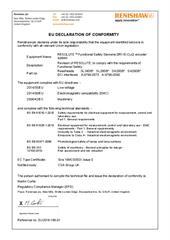 Certificate (CE):  RESOLUTE Functional Safety DRIVE-CLiQ Siemens EU2018-186