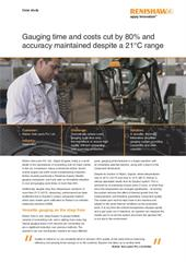 Case study:  Kishan Auto - Gauging time and costs cut by 80% and accuracy maintained despite a 21°C range