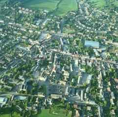 W-u-E aerial view