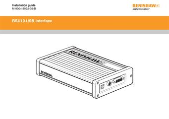 Installation guide:  RSU10 USB interface